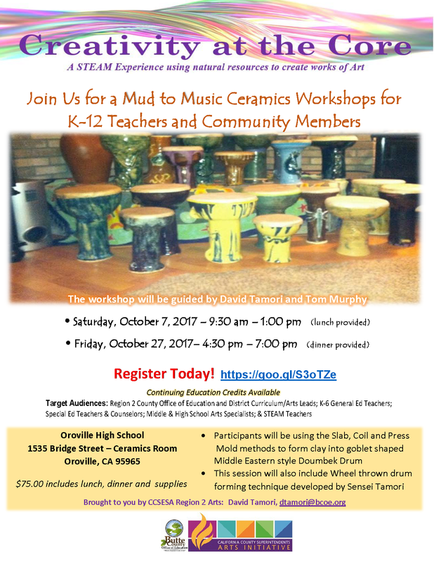 Mud to Music Workshops