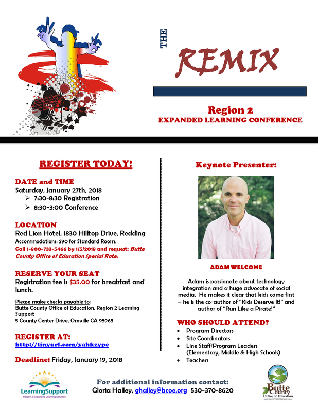 Region 2 Expanded Learning Conference
