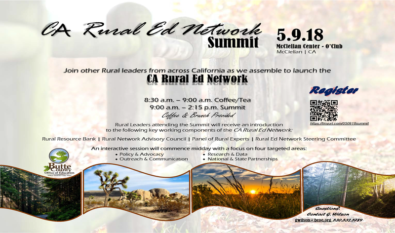 CA Rural Ed Network Summit