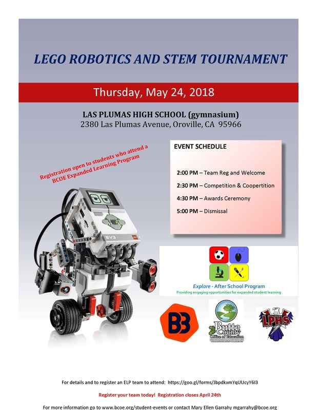 2018 Lego Robotics and STEM Tournament