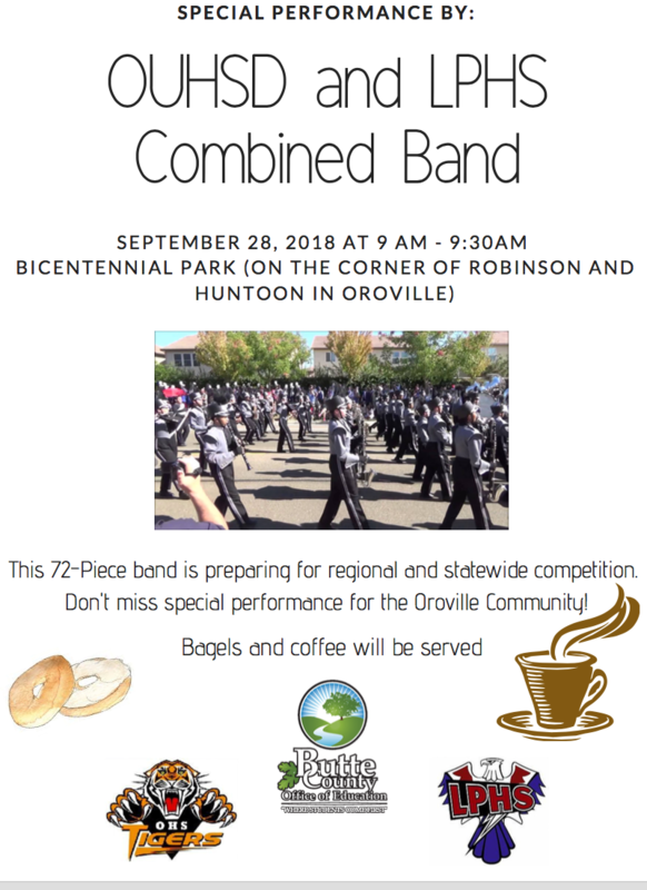 OUHSD and LPHS Combined Band Flyer