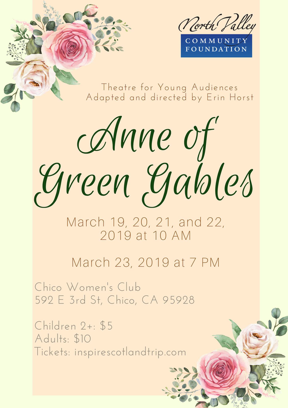 Anne of Green Gables Informational Flyer